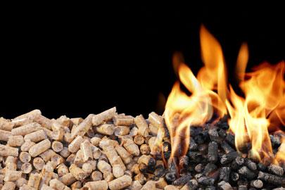Pelletheizung - heizen mit Holz